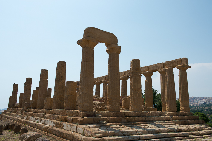 Best archaeological site: Agrigento, Sicily