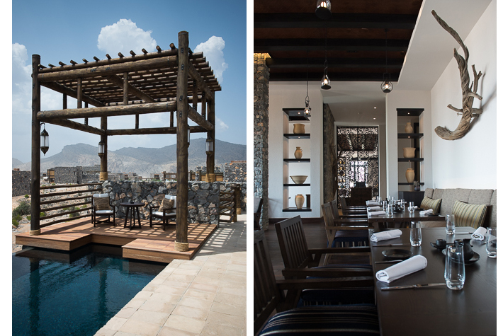 Best resort: Alila Jabal Akhdar, Oman