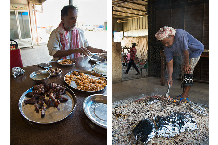 Best street food: camel meat, Oman