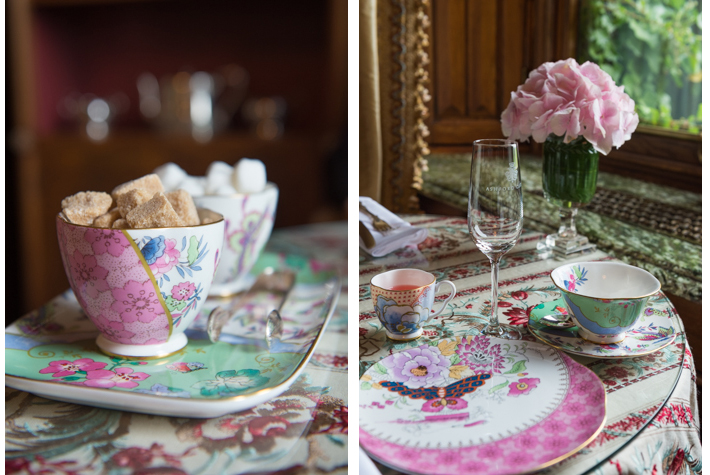 high tea in the Connaught Room
