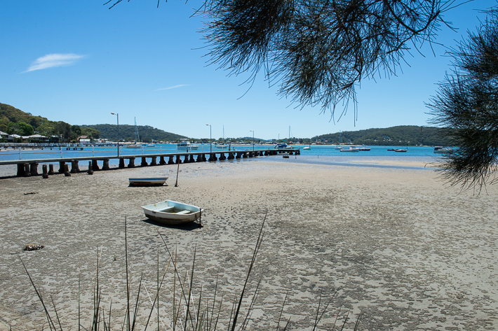 Low tide at Hardys bay