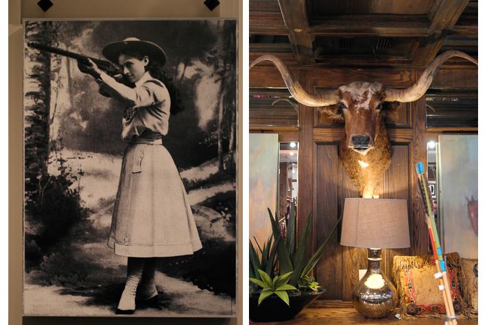 Annie Oakley, Maverick's Western Store, Fort Worth