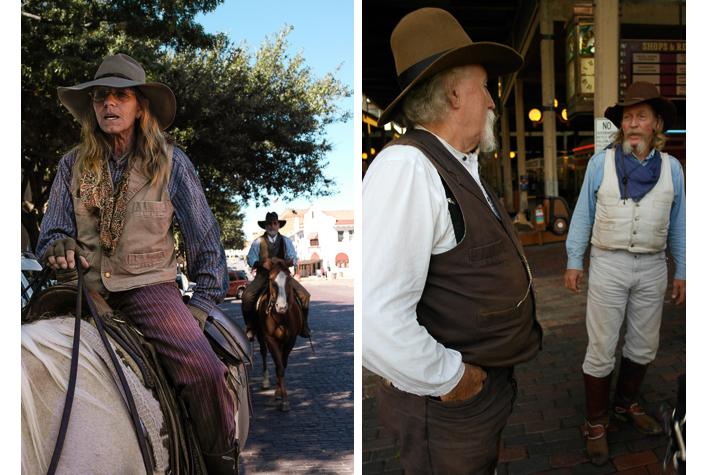 Cowgirl Brenda; Jim 'Creek' Tipton and Lyle Holliday