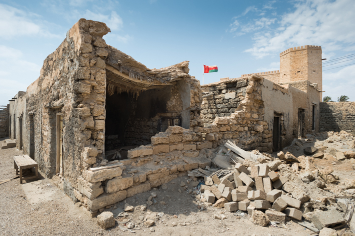 ruins of old souq, Mirbat