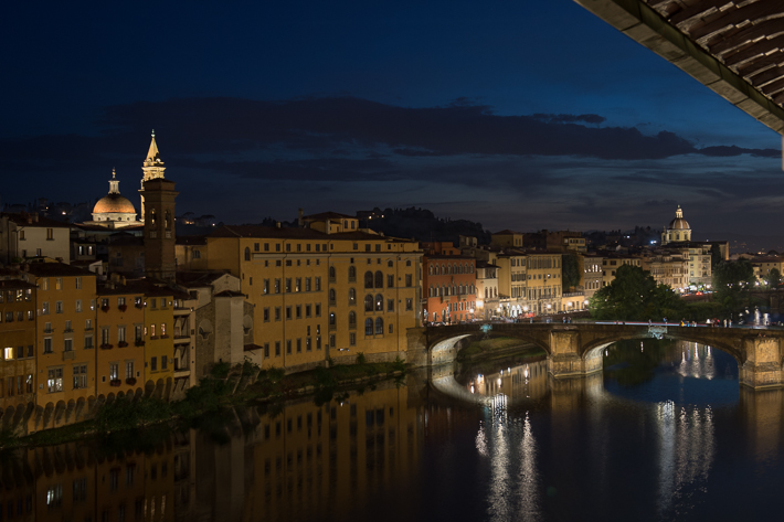the Arno from our suite