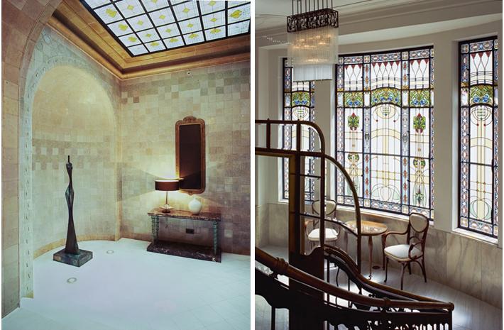 ante room, hallway