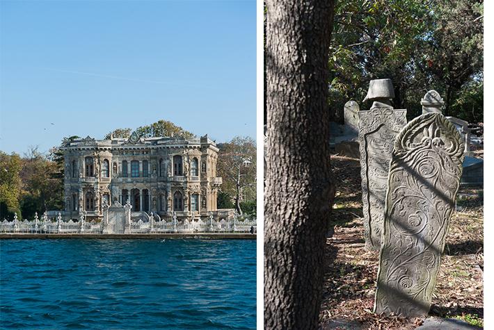Bosphorus, cemetery