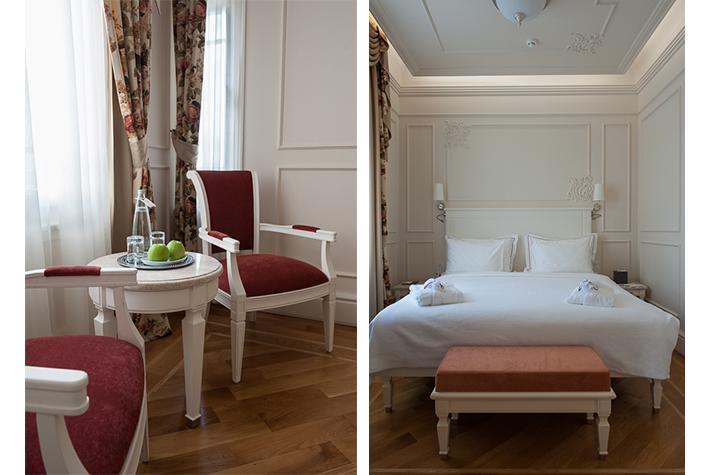 Hotel Corinne suite