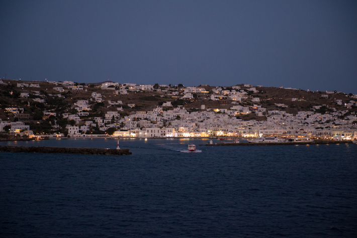 Mykonos from Le Soleal