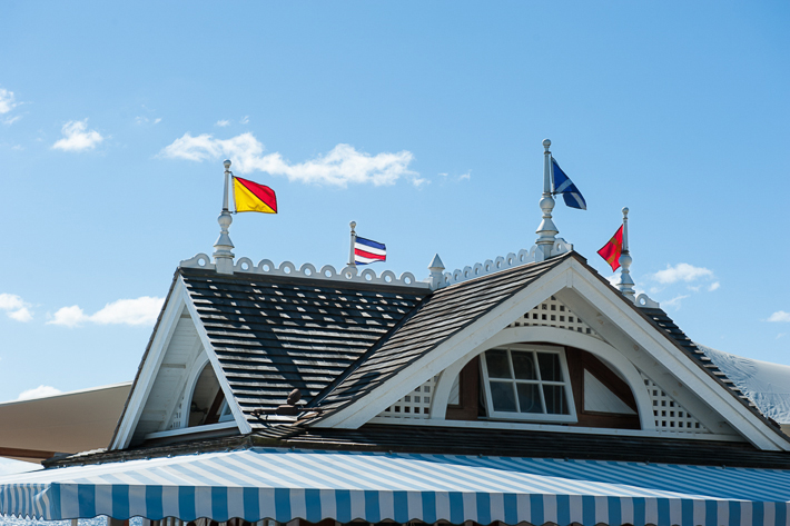 roof of dune cottage