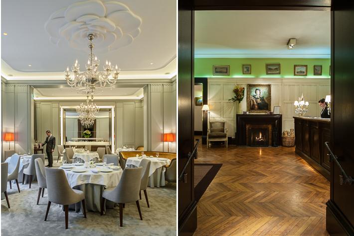 La table du Lancaster, reception - Hotel Lancaster