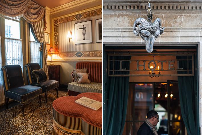 foyer, entrance - L'Hotel