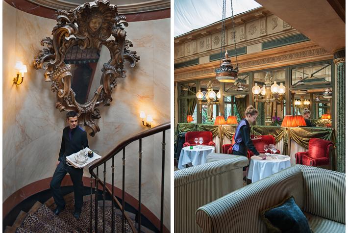 room service, Le Restaurant - L'Hotel