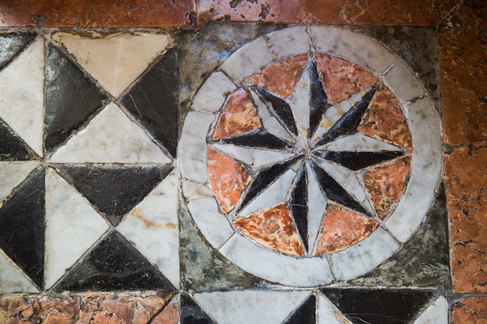 Detail of floor at Pestana Palacio do Freixo.