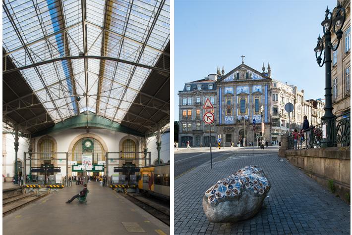 Porto station.