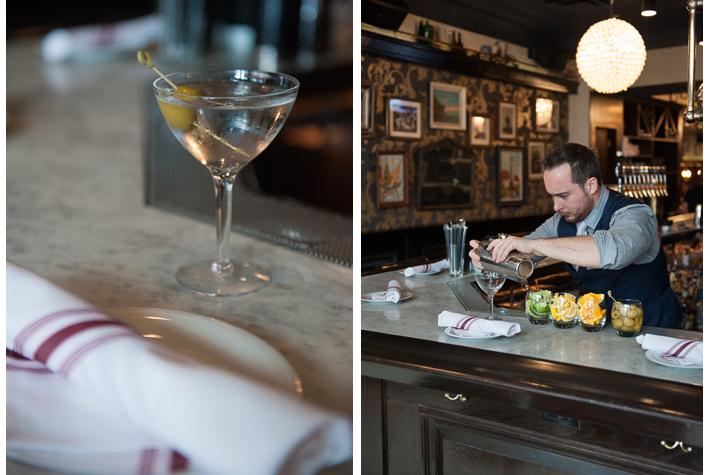 martini at Parker & Quinn