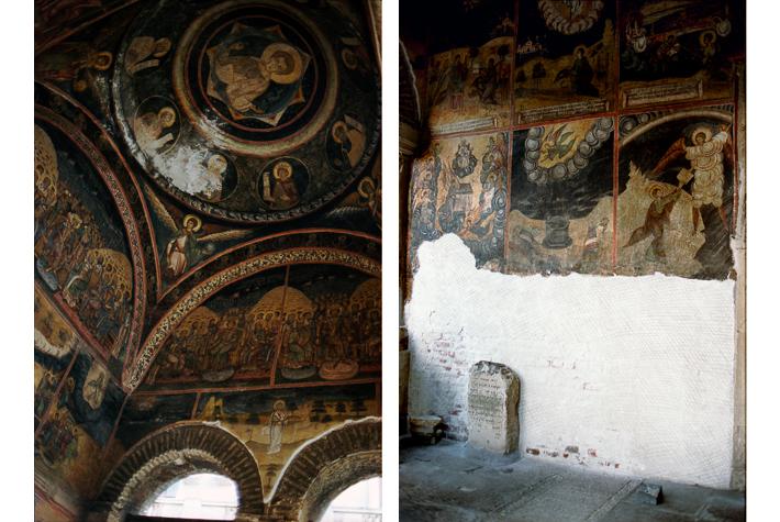 Murals, St Antony's, Bucharest, Romania