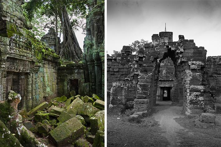 Ta Prohm, Wat Nokor, Cambodia