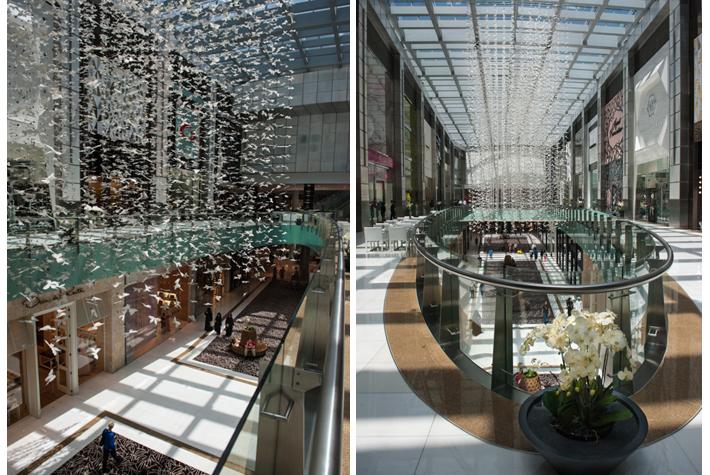 butterflies - Dubai Mall