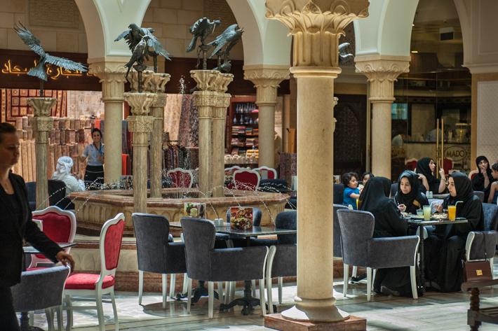 lunch- Dubai Mall