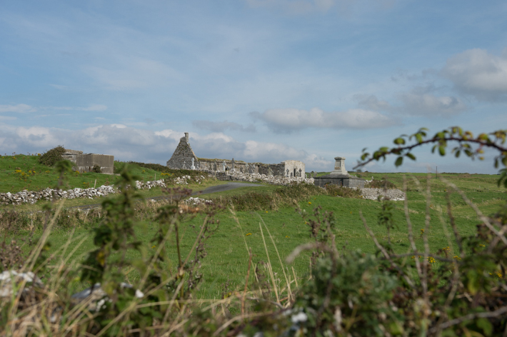 Church ruin near Doolin.