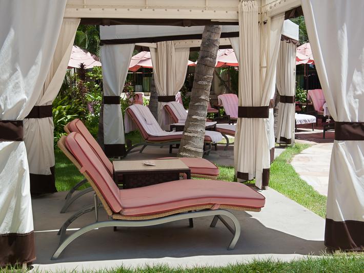 cabana at Royal Pool