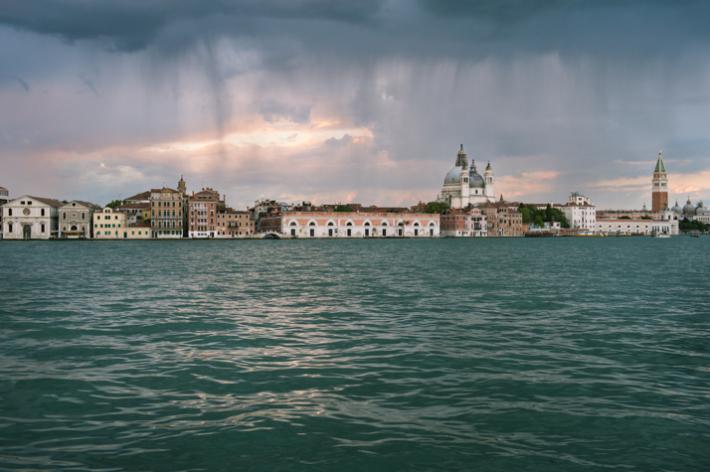 across to Venice