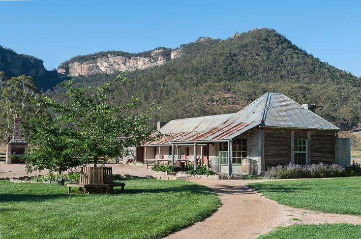 the 1832 homestead