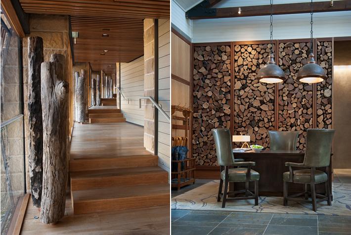 hallway of Timeless Spa, reception