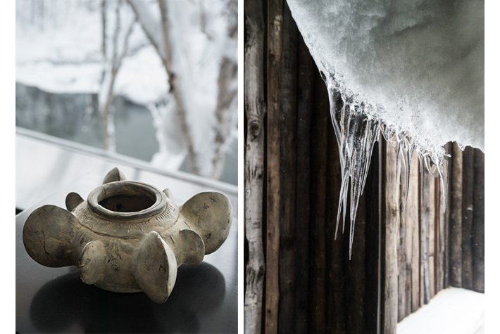 ceramic and ice