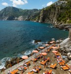 La Gav from above, Positano sq