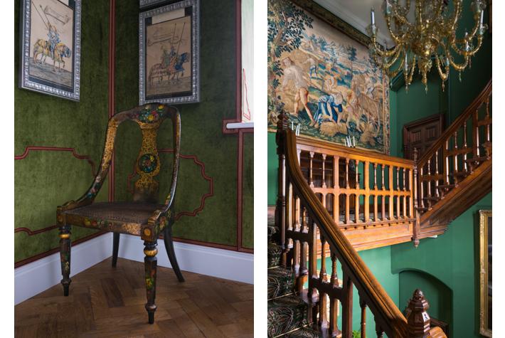Opulent interiors