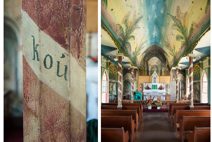 St Benedict's painted church Hawaii