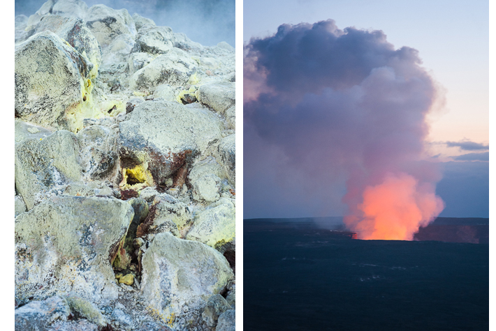 sulphur bank, volcano