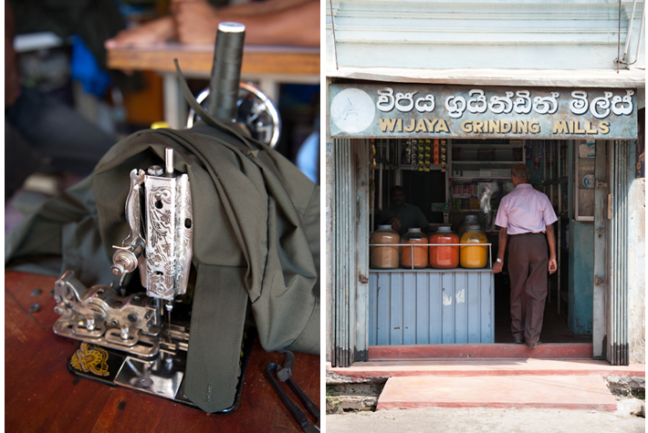 Singer, spices - Galle