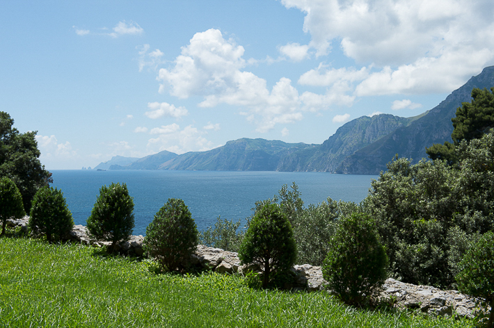 distant Capri from Casa Angelina