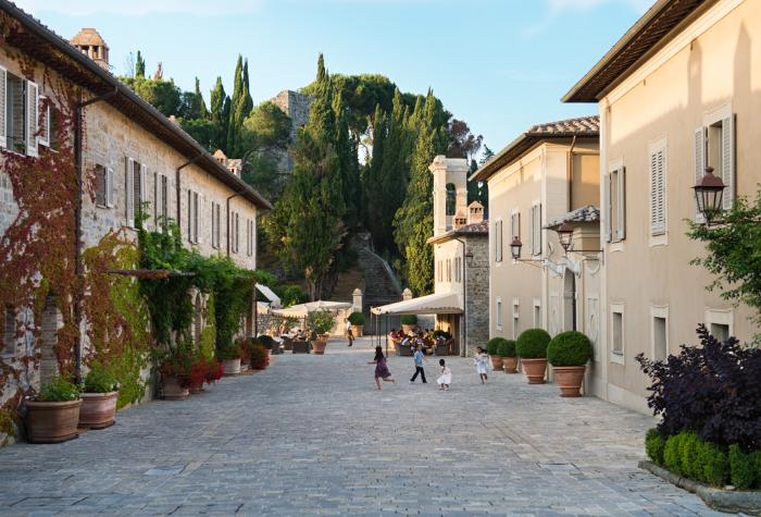 The Borgo.