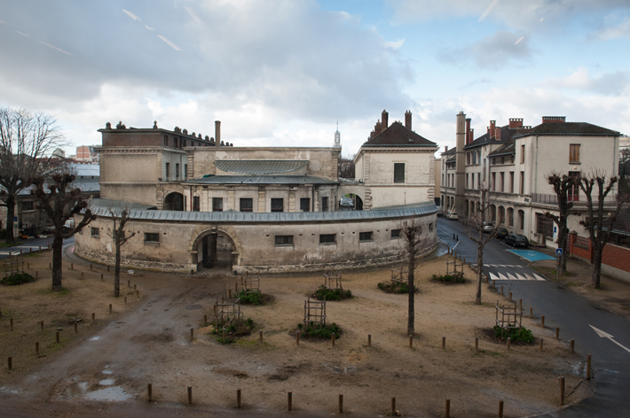 view of stables from Fragonard museum