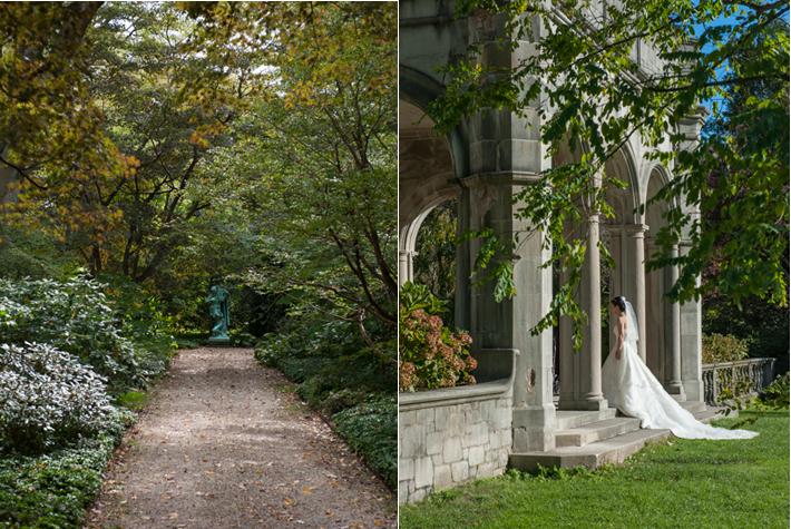 garden, bride - Coe house
