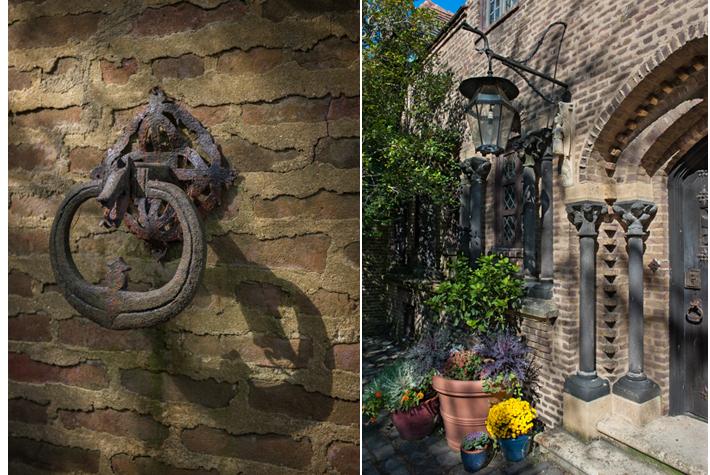 knocker, doorway - Falaise