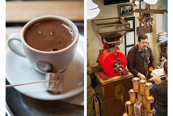 coffee in Kadikoy