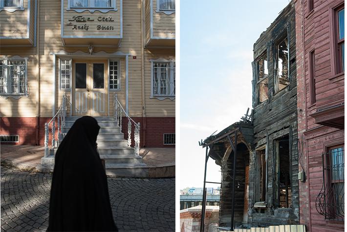 wooden houses Edirnekapi