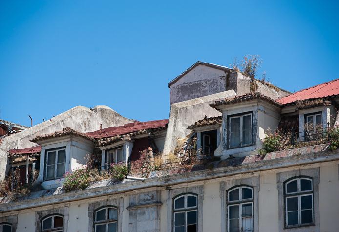 Baixa rooftops