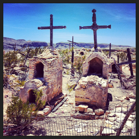 Cemetery at Terlingua Ghost Town