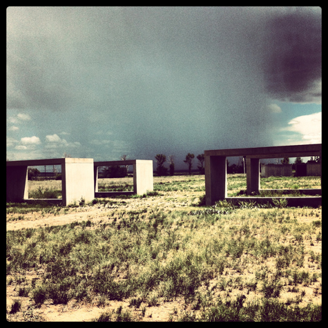 Donald Judd, part of 15 Untitled Works in Concrete at Chinati Foundation, #2
