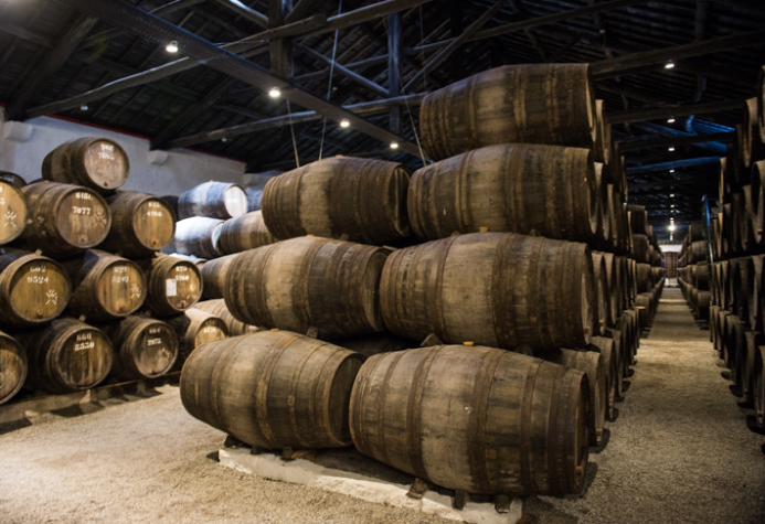 Port ageing at Taylor's.