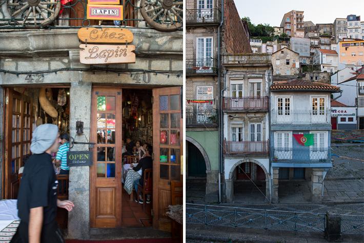 Facing the Douro.