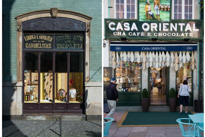 Vintage shop fronts.