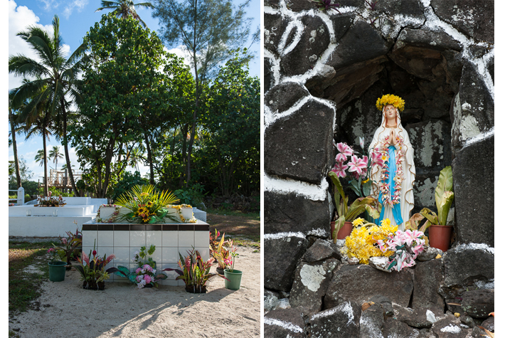 private cemetery, shrine