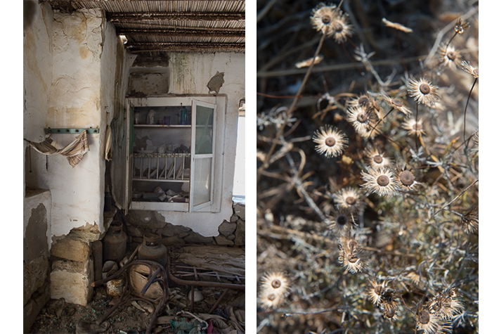 Herder's shack, Delos, Greece